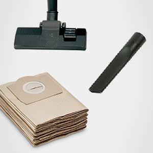 Accesorios para aspiradores de madera