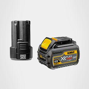 Baterías maquinaria electroportátil