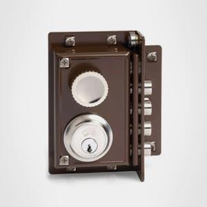 Cerraduras Sobrepuestas para Carpintería de Madera de Seguridad