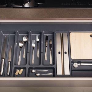 Cuberteros y organizadores para interiores de cajón