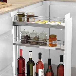 Accesorios para mueble bajo cocina extraíbles