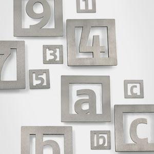Números, símbolos y letras