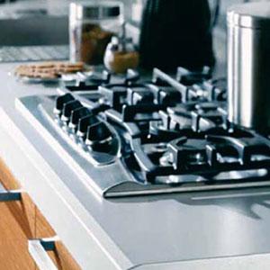 Regrueso frentes de encimera cocina