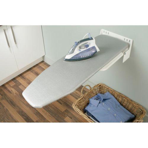 Mesa de planchar plegable y abatible