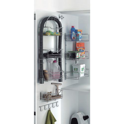 Línea BÁSICA - Estante accesorios aspirador para armario escobero