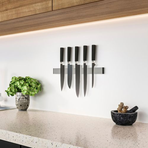 MAGNETO - Barra magnética adhesiva porta cuchillos