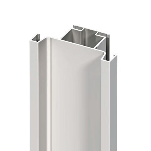 Perfil gola vertical para puertas dobles