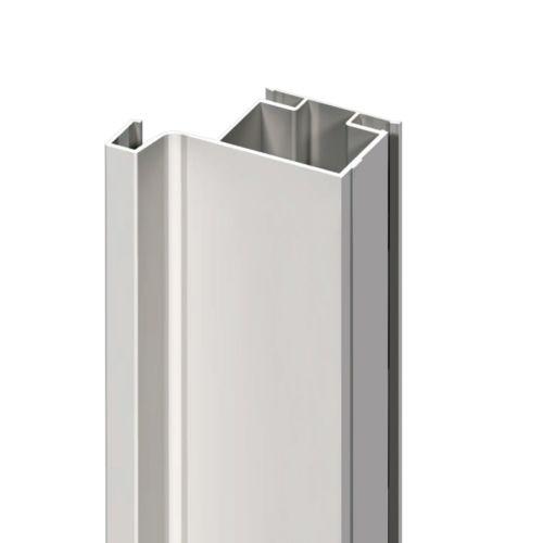 Perfil gola vertical para puertas simples