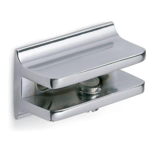 Soporte rectangular par cristal NICOLE de 6 mm