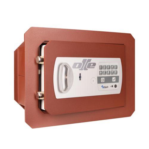 Caja fuerte empotrada SERIE 600 - Apertura digital y llave y sistema Ocluc