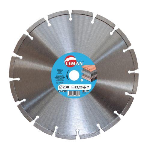Disco para hormigón segmentado - Laser