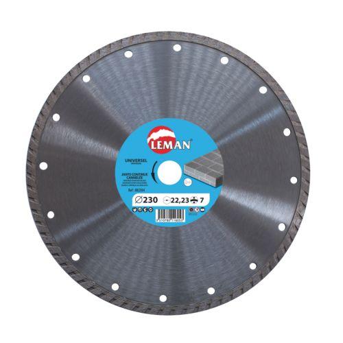 Disco Diamante de Corte Seco Turbo de banda continua para Uso general
