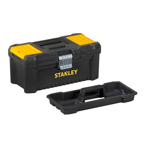 STANLEY - Caja de herramientas con organizador integrado en la tapa - Cierre metálico