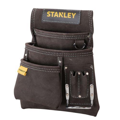 STANLEY - Bolsa para clavos con soporte de martillo para cinturón