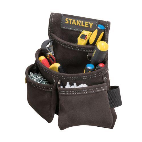 STANLEY - Bolsa para clavos con 2 bolsillos para cinturón