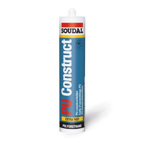 Soudal PU CONSTRUCT - Cola poliuretano para uniones fuertes que precisen resistencia al agua
