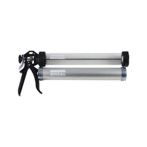 Pistola de silicona giratoria para bolsa 600 ml.