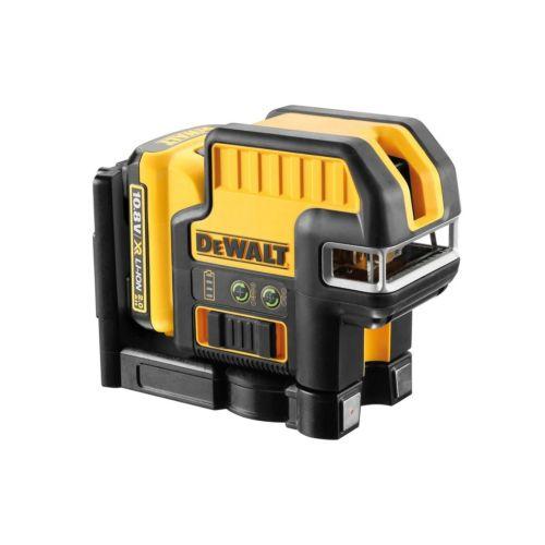 Dewalt DCE0825D1G-QW - Nivel láser autonivelante de líneas en cruz 30 m