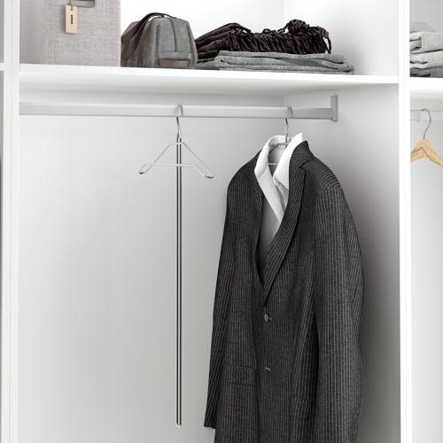 Percha con mango largo para los armarios con la barra alta