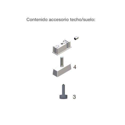 Accesorio para fifación suelo/techo para AIRPERFIL