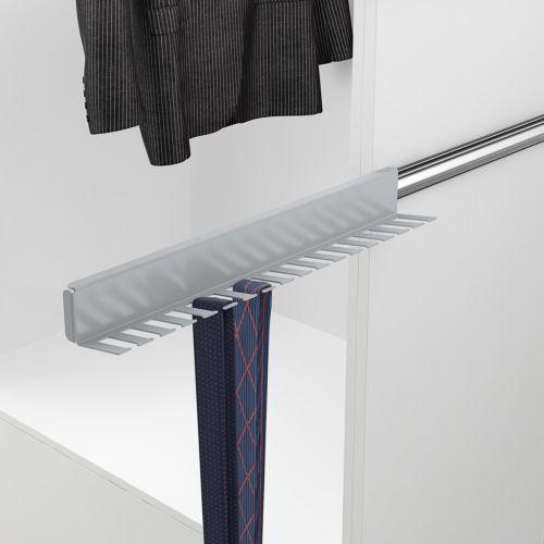 Corbatero y cinturonero extraíble para lateral del mueble