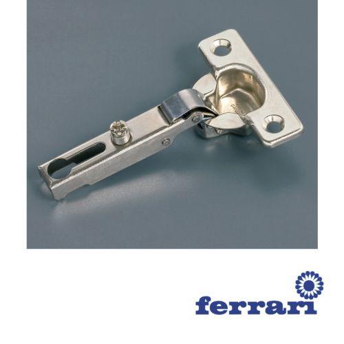 Bisagra Recta Ferrari Mini Ø26 mm. de apertura 95º