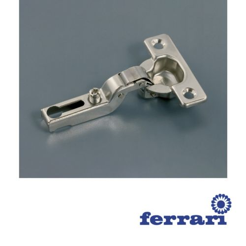 Bisagra Acodada Ferrari Mini Ø26 mm. de apertura 95º