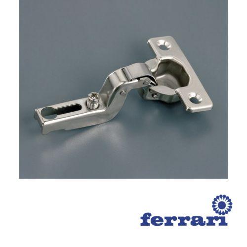 Bisagra Superacodada Ferrari Mini Ø26 mm.  Apertura 95º
