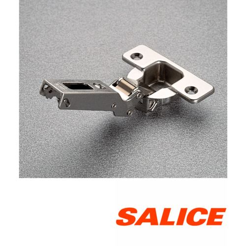 Bisagras SALICE Ø35 mm. apertura de 110º/120º con ala inclinada ángulo negativo