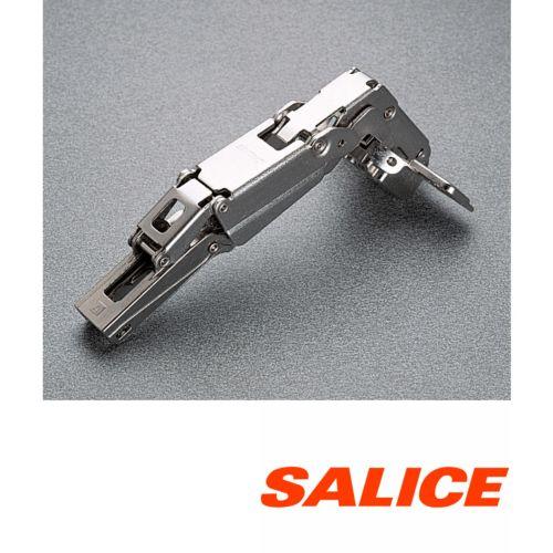 Bisagra acodada decelerante SALICE serie 200 de Ø35 mm. Apertura 155º Silentia Plus