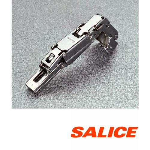 Bisagras SALICE sistema PUSH de apertura 165º para perfil de aluminio
