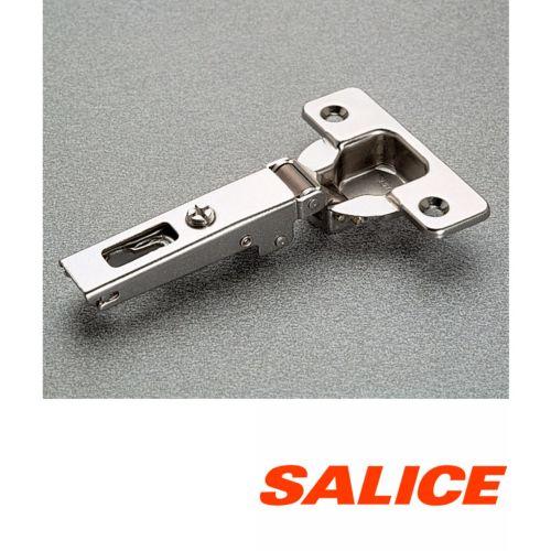 Bisagras Recta SALICE serie 200 de Ø35 mm. Fijación Tornillo, Apertura 105º . Profundidad 8 mm.