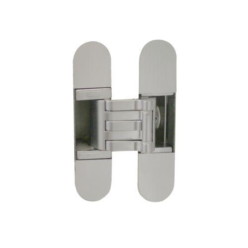 Bisagras KUBICA K-6300 con 5 pivotes regulables sobre 3 ejes de 60Kg. Apertura 180º puerta enrasada a tapeta