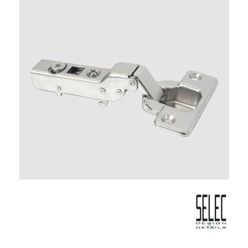 Bisagra Acodada SELEC cierre Amortiguado decelerante de Ø35 mm. Apertura 110º