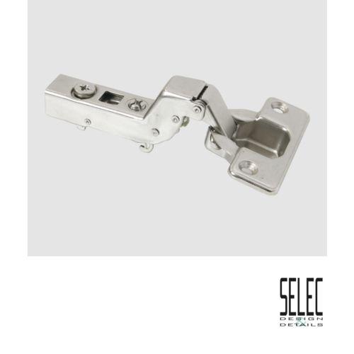 Bisagra Superacodada SELEC cierre Amortiguado decelerante de Ø35 mm. Apertura 110º