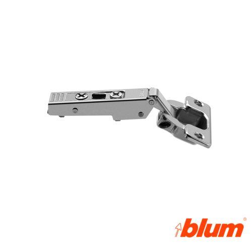 Bisagra recta Blum Clip Top Ø35 mm. Apertura a 120º para costados de 16 mm. Sistema Expulsión Tip-On.