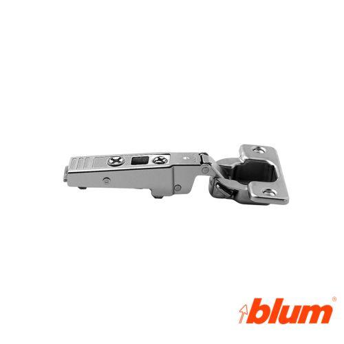 Bisagra recta Blum Clip Top Ø35 mm. de  95º para grandes espesores y molduras. Apertura Estándar.