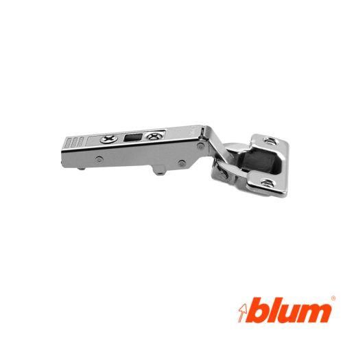 Bisagra recta Blum Clip Top Ø35 mm. a 107º para costados de 16 mm. Apertura Estándar.