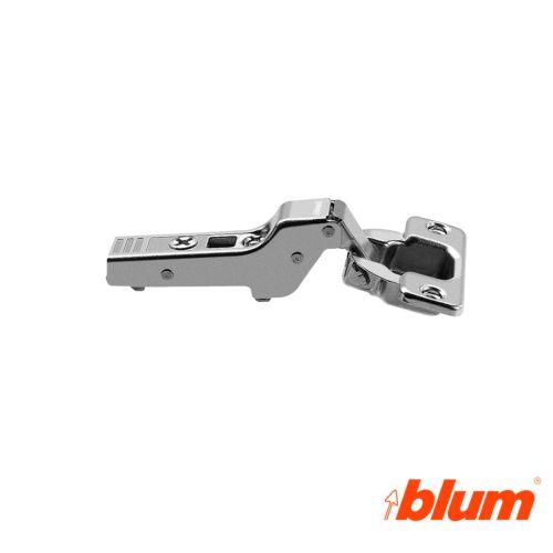 Bisagra acodada Blum Clip Top Ø35 mm. a 107º para costados de 16 mm. Apertura Estándar.