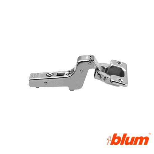 Bisagra superacodada Blum Clip Top Ø35 mm. a 107º para costados de 16 mm. Apertura Estándar.