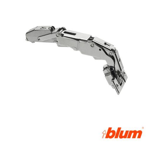 Bisagra recta Blum Clip Top Ø35 mm. a 155º para despenseros y montajes específicos. Cierre decelerante BLUMOTION.