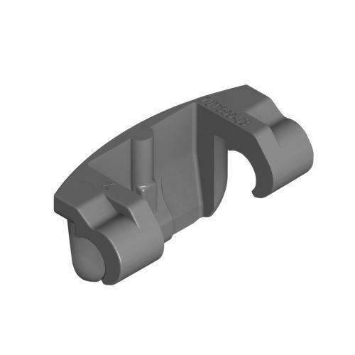 Limitador de apertura a 86º para bisagras Blum a 110º para costados de 16 y 19 mm.