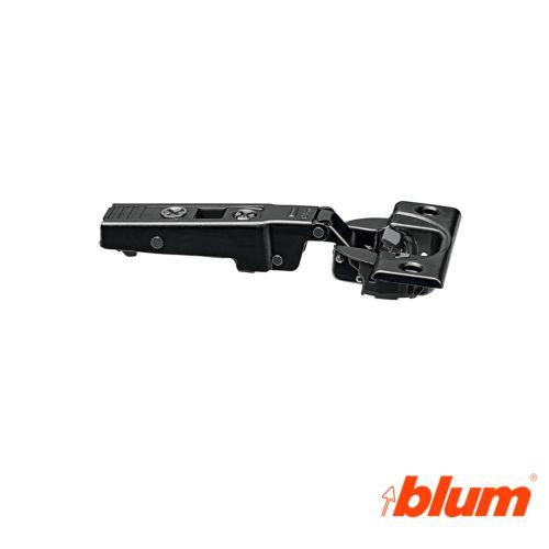 Bisagra recta Blum Clip Top Ø35 mm. a 110º para costados de 19 mm. Cierre decelerante Blumotion.