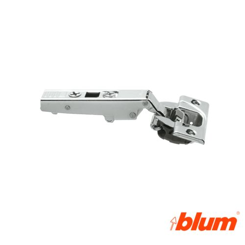 Bisagra recta Blum Clip Top Ø35 mm. Apertura 110º para costados de 16 mm. Cierre decelerante BLUMOTION.