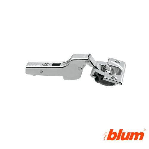 Bisagra acodada Blum Clip Top Ø35 mm. Apertura 110º para costados de 16 mm. Cierre decelerante BLUMOTION.
