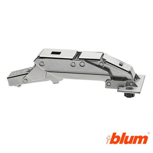 Bisagra BLUM Clip Top concierre decelerante BLUMOTION - Recta 110º para puertas finas de espesor mayor/igual 8 mm.