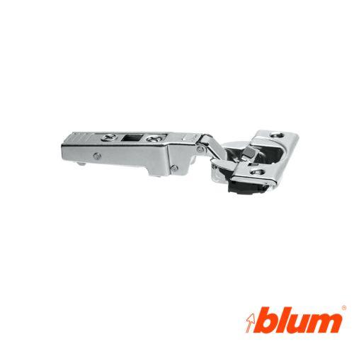 Bisagra recta Blum Clip Top Ø35 mm. Apertura 95º para molduras y grandes espesores. Cierre decelerante BLUMOTION