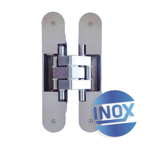 Bisagras KINOX K-7316 - Con 7 pivotes regulables sobre 3 ejes de 120/140Kg. Apertura 180º