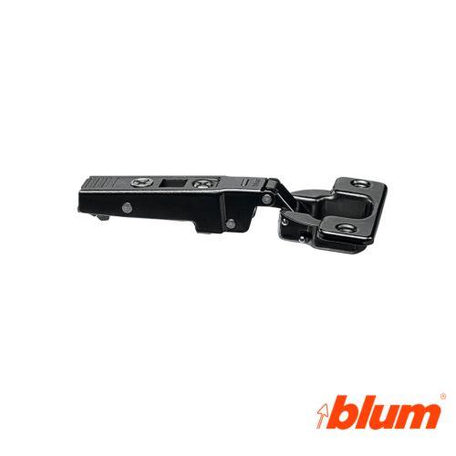 Bisagra recta Blum Clip Top Ø35 mm. a 95º para grandes espesores y molduras. Apertura por expulsión TIP-ON.