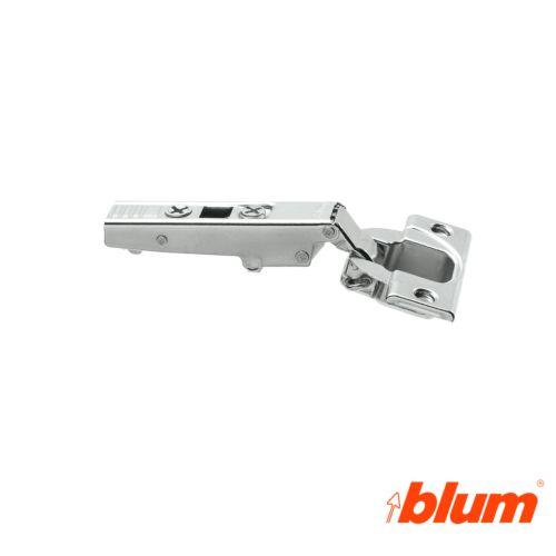 Bisagra recta Blum Clip Top Ø35 mm. Apertura a 110º para costados de 16 mm. Sistema Expulsión Tip-On.